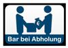 Bar bei Abholung
